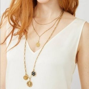 Stella and Dot Dez Layering necklace.